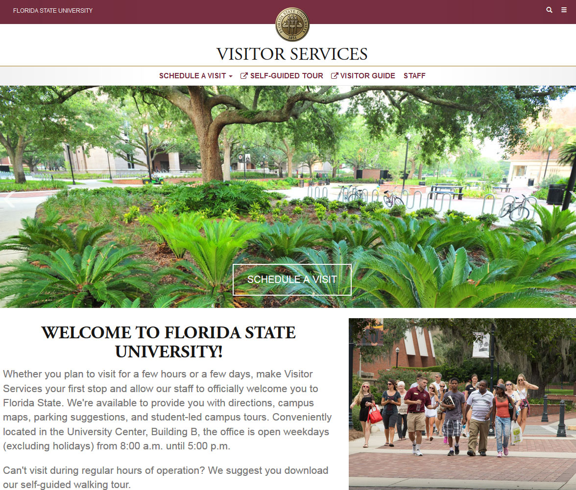FSU Visitor Services